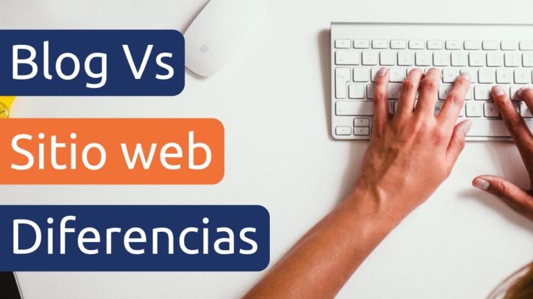 diferencias entre un blog y una pagina web